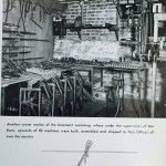 Drill Press in Basement